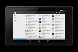 Screenshot of inKa File Manager