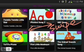 Screenshot of Kids Songs
