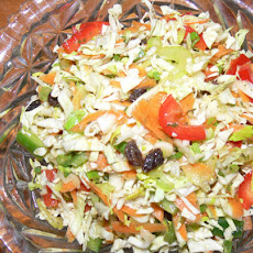 Low-Fat Big Crunch Coleslaw