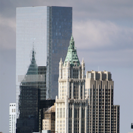 Reflections by Alec Halstead - Buildings & Architecture Office Buildings & Hotels