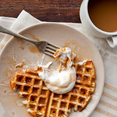Waffles With Salted Caramel Sauce Recipe