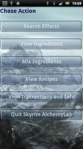 Skyrim Alchemy Lab