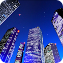 YourCity 3D – customize your background & fly through a nighttime metro city with this live wallpaper app
