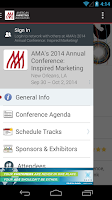 Screenshot of American Marketing Association