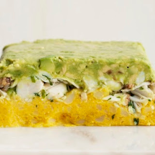 Crab, Avocado & Potato Terrine
