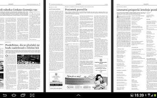 Screenshot of Ukopditi informator - Catlogr