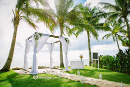 Radisson Blu wedding setup, Fiji