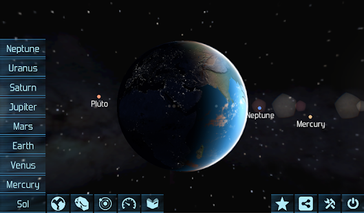 Solar System Explorer HD Pro - screenshot