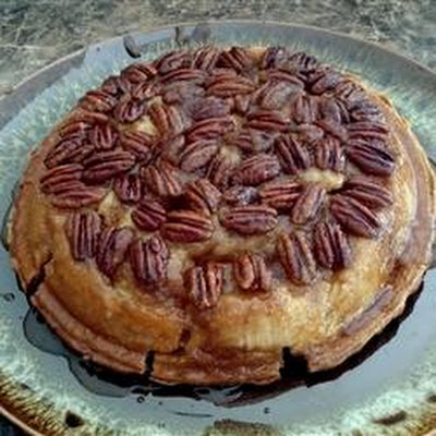 Topsy-Turvy Apple Pie