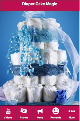 Diaper Cake Magic