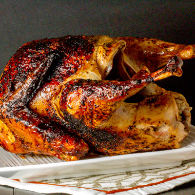 Ancho Chile Brined Turkey