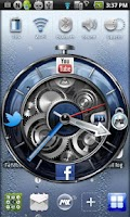 Screenshot of MXHome Theme BlueWatch