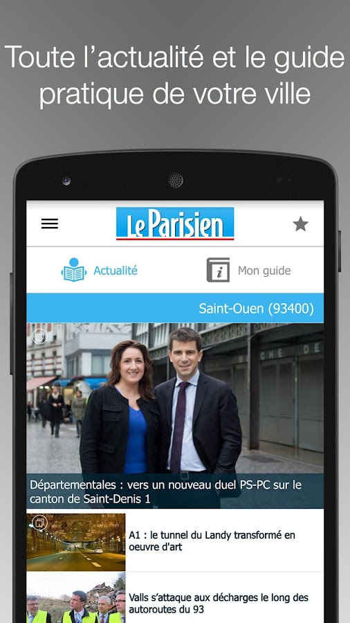 Le Parisien Ma Ville - Info Screenshot 1