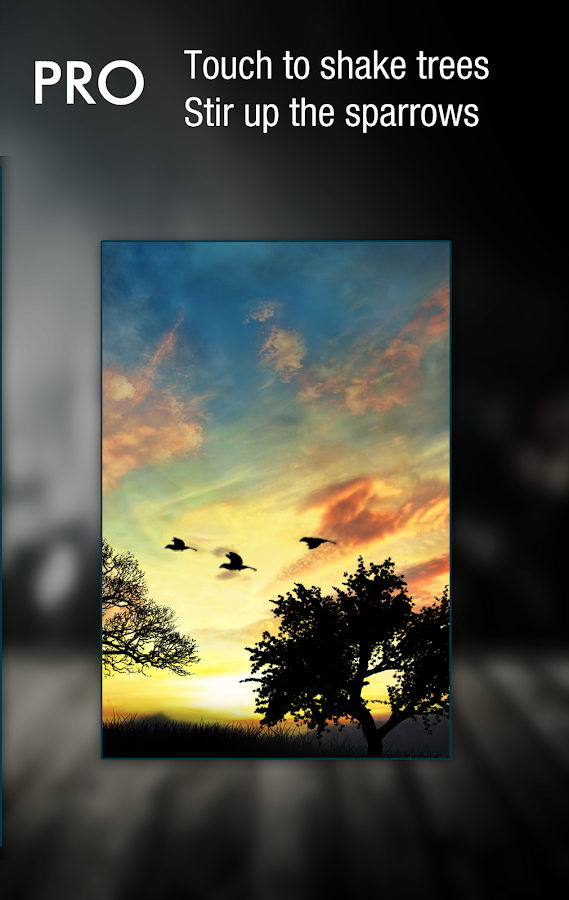 Sunset Hill Pro Live Wallpaper Screenshot 3