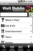 Screenshot of Visit Dublin Official Guide
