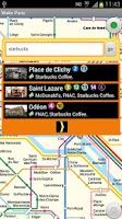 Screenshot of Paris subway & guide