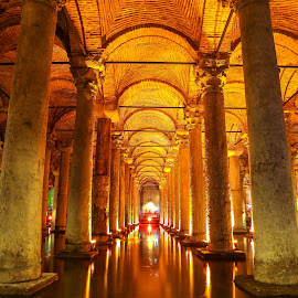 The Basilica Cistern in Istanbul by Rooney Tham - Buildings & Architecture Public & Historical