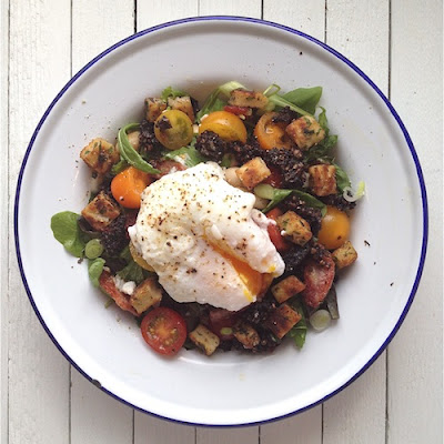 Irish Fry Breakfast Salad