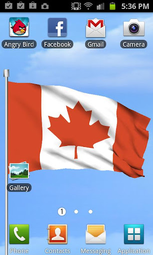 Flag of Canada- Wind Gravity