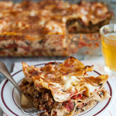 Cheesy Vegetarian Lasagna