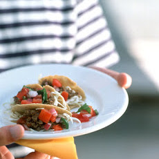 Beef Tacos with Pico de Gallo