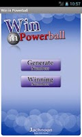 Screenshot of Win in Powerball