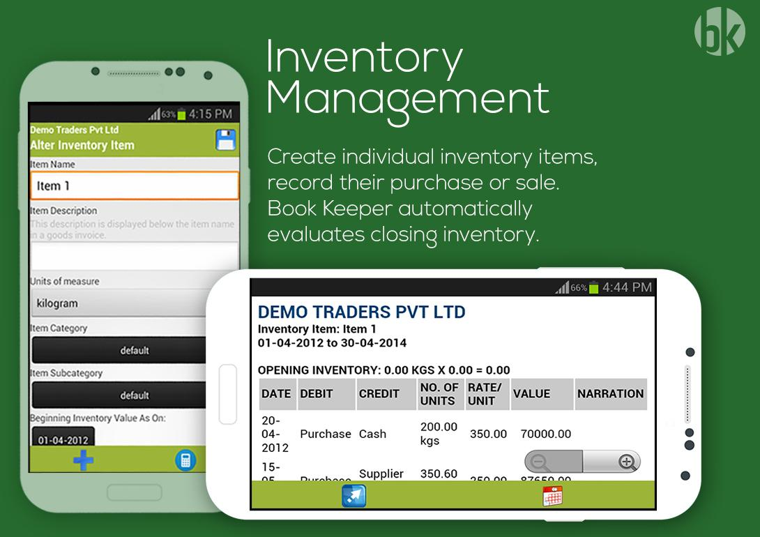 Book Keeper Accounting+Invoice Screenshot 2