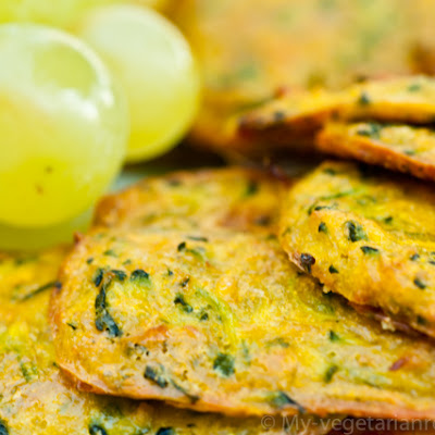 Zucchini Patties with Turmeric