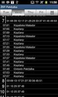 Screenshot of iTransit BA