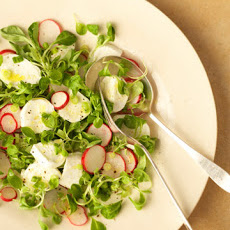 Spring Salad with Fresh Mozzarella
