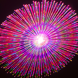 Tasty pop !! by Jim Barton - Abstract Patterns ( laser light, light design, colorful, laser design, tasty pop, laser, laser light show, light, science )