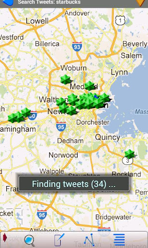 Tweets On A Map Twitter