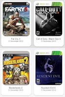 Screenshot of All Playstation Xbox Wii Games