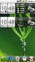 Screenshot of Sense Analog Small Clock 4x1