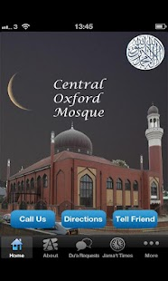 Central Oxford Mosque - screenshot