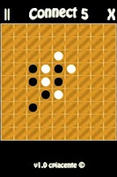 Screenshot of Connect 5 (Gomoku)