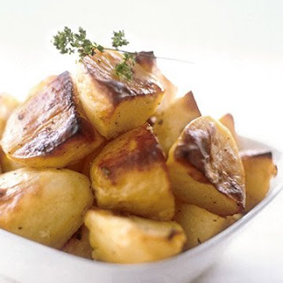 Greek Lemon Roasted Potatoes