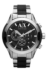 AX Armani Exchange Chronograph Bracelet Watch, 47mm