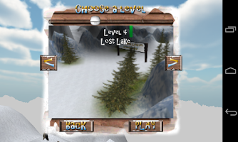 Screenshot of Extreme Luging 3D