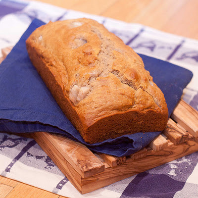Pear Honey Buckwheat Bread