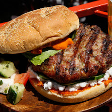 Mediterranean Lamb Burger Recipe