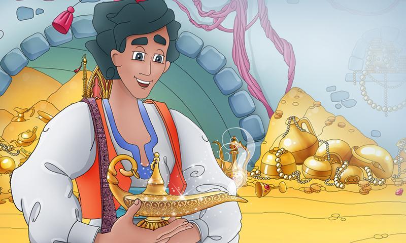 Aladdin and the Wonderful Lamp full movie anime