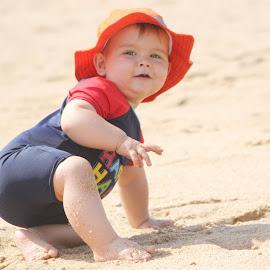 Fun in the sun by Maz Tissink - Babies & Children Babies ( closeup )