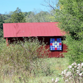Quilt Trail Barn by Jean Miller - Buildings & Architecture Other Exteriors