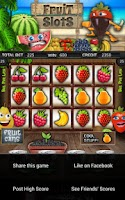 Screenshot of Fruit Cocktail Slot Machine HD