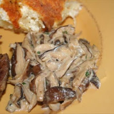 Braised East-West Mushrooms
