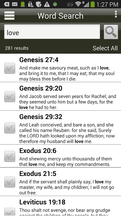 Scourby YouBible Screenshot 4