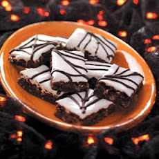Spiderweb Brownies Recipe