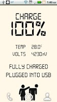 Screenshot of Digital Battery Status
