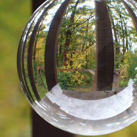 by Dipali S - Artistic Objects Other Objects ( abstract, artistic, sphere, swing, refraction )